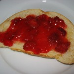 Strawberry Jam on Toast